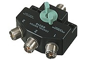 Diamond CX-310A 3fach Antennenschalter bis 800 MHz