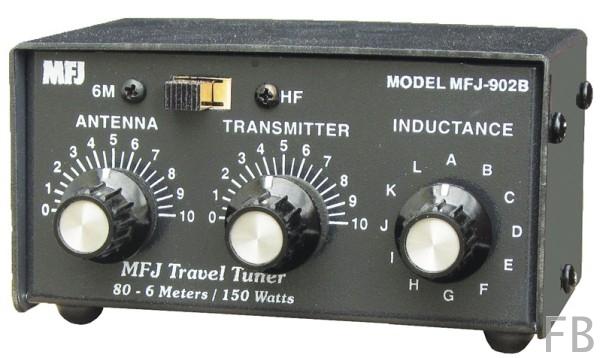 MFJ-902B Kompakt-Tuner 80m - 6m Band
