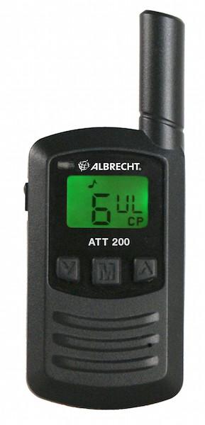 Albrecht ATT 200 Mini PMR446 Handfunkgerät mit USB Ladefunktion