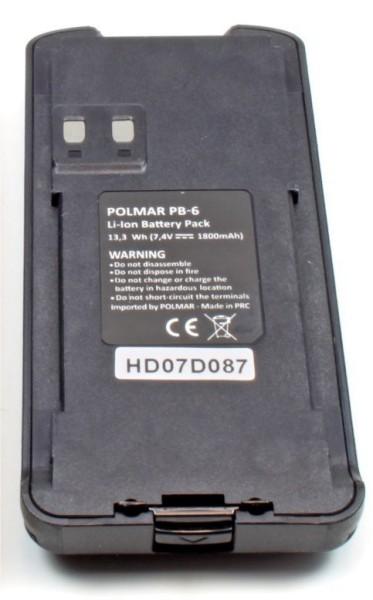 Polmar Digital Work PB-6 Akku für Polmar Digital Work