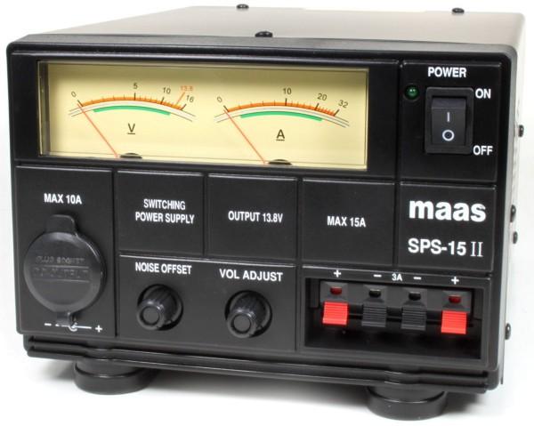 Maas SPS-15-II 9-15V / 15A/17A