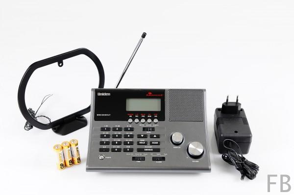 Uniden Bearcat UBC-360CLT Funkscanner mit Radioempfang