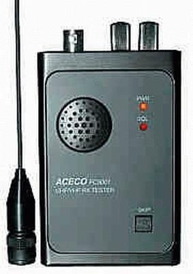 """Aceco FC-5001 """"Wanzenfinder"""" mit Lautsprecher für FM Signale"""