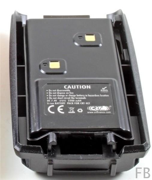 CRT 4CF Akkupack Li-Ion, 7.4 Volt, 2200 mAh