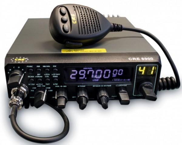 CRE 8900 10/11m Band AM/FM/SSB/CW/PA Amateurfunkgerät