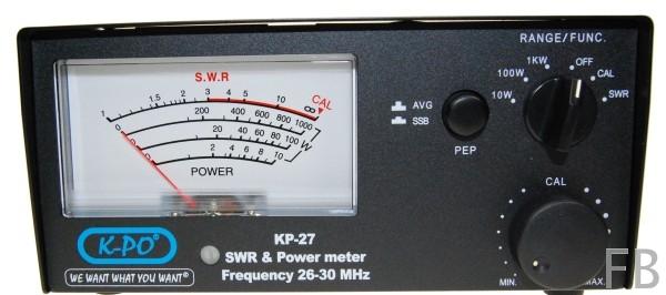 MAAS K-SWR 1000 / KPO KP-27 SWR- & Power