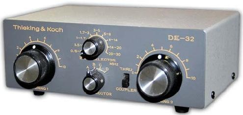 DE-32 manueller Antennentuner
