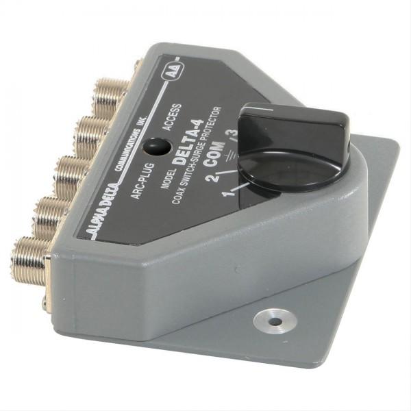 Alpha Delta 4B-PL 4-fach Antennenumschalter bis 450 MHz