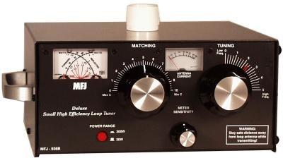 MFJ-936B Loop Tuner mit SWR/Power- und Antennenstrommessgerät