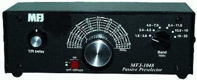 MFJ-1048 KW Pre-Selector