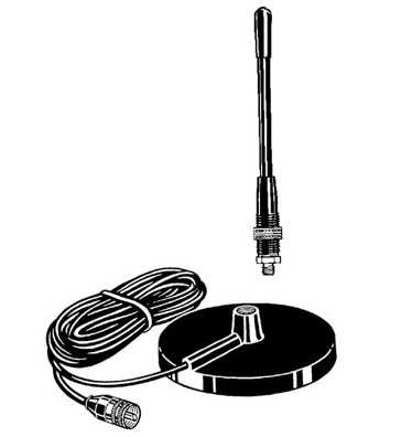 SOLARCON A-108PM CB Mini Magnethaftantenne nur 22cm lang