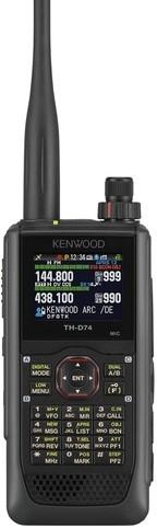 Kenwood TH-D74E Handfunkgerät APRS/D-Star 2m/70cm Twinbandbetrieb