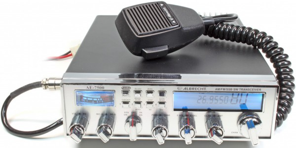 Albrecht AE 7500 AM/FM/SSB Amateur Radio Version