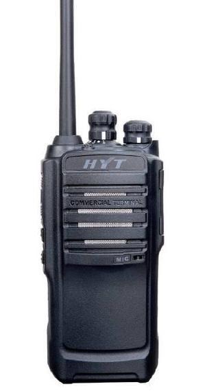 Hytera TC-446S prof. PMR446 Handfunkgerät komplett mit Akku und Ladegerät im Lieferumfang