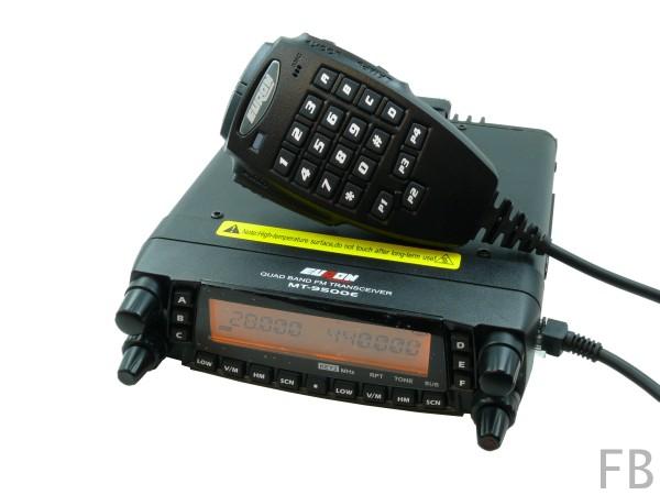 Euron MT-9500E Quadband-Mobiltransceiver 10m/6m/2m/70cm