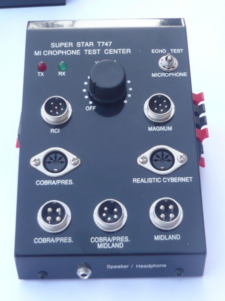 Super Star T747 Mikrofontester