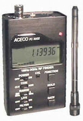 Aceco FC-3002 Frequenzzähler für 1 MHz bis 3000 MHz mit Scanner Anschlussmöglichkeit