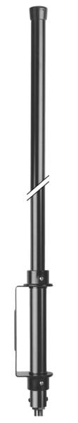 Hurricane 27, CB-Balkonantenne, 100 cm Länge ohne Radials