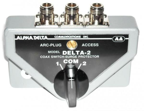 Alpha Delta 2B-N 2-fach Antennenumschalter 0-1500 MHz