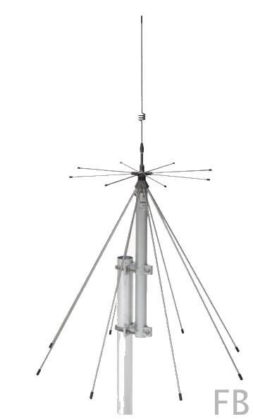 Sirio SD-2000N Discone Stationsantenne 100-2000 MHz