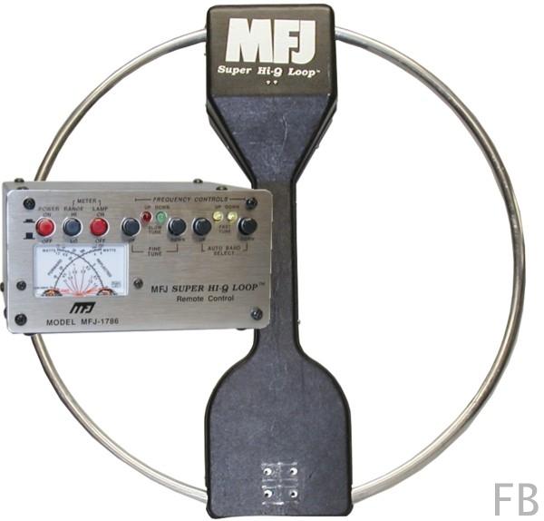 MFJ-1786X Magnetische Loop Antenne 10-30 MHz inkl. Steuergerät