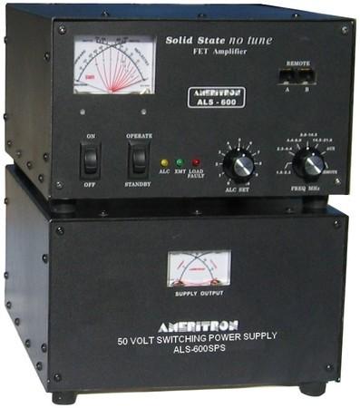 ALS-600SX KW Transistor PA mit Schaltnetzteil