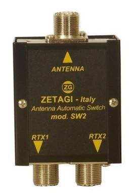 Zetagi SW-2 automatischer Antennenumschalter 15-50 MHz