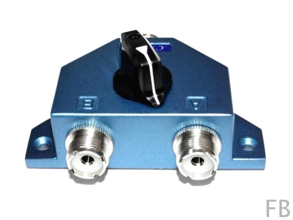 Albrecht CX-201 PL 2-fach Antennenumschalter 0-500 MHz