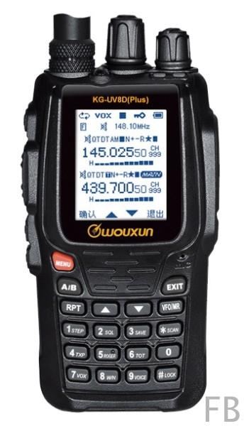 Wouxun KG-UV8D Plus Dualband VHF/UHF Amateurfunk Handfunkgerät
