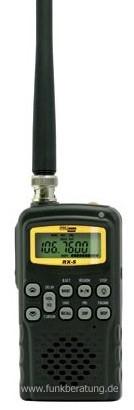 Polmar RX-5 200 Kanal Handscanner mit Flugfunk- und Radioempfang