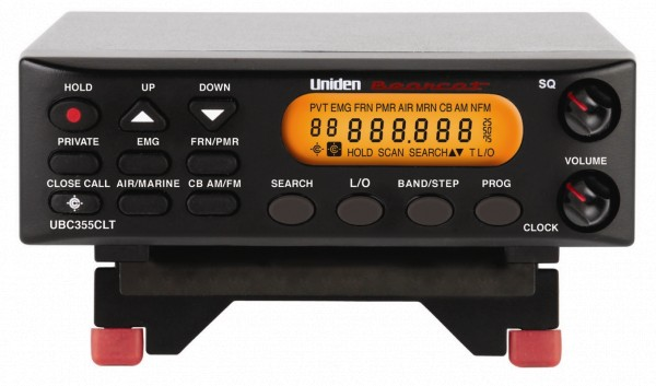 Uniden Bearcat UBC355CLT kompakter Mobil-/Stationsscanner