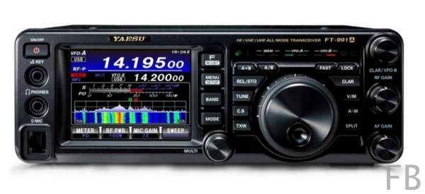 Yaesu FT-991A HF/50/144/430 MHz Stations Transceiver