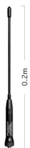 Diamond HC-200SJ SMA Female Aufsteckantenne abstimmbar 350-520 MHz