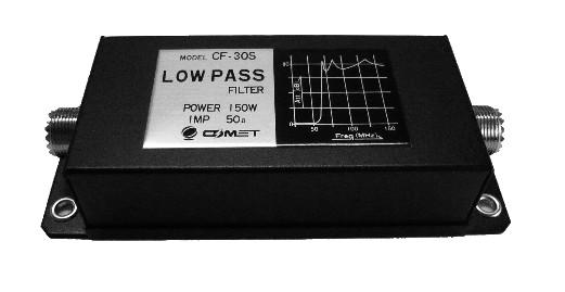 Comet CF-30S Tiefpassfilter für 1,9 - 30 MHz und 150 Watt CW Sendeleistungen