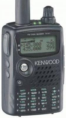 Kenwood TH-F7E 2m/70cm Twinband Amateurfunk Handfunkgerät