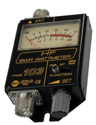 Zetagi 103 SWR / PWR Meter