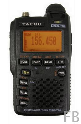 Yaesu VR-160 Handscanner 100 kHz bis 1300 MHz