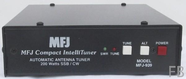 MFJ-939Y Automatischer Antennentuner von 1,8 bis 30 MHz, YAESU FT-857, etc.