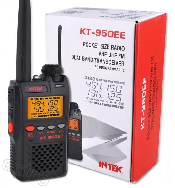 INTEK KT-950EE 2m/70cm Dualband Amateurfunk Handfunkgerät