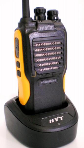 Hytera (HYT) Power 446 prof. PMR446 Handfunkgerät nach Schutzklasse IP66