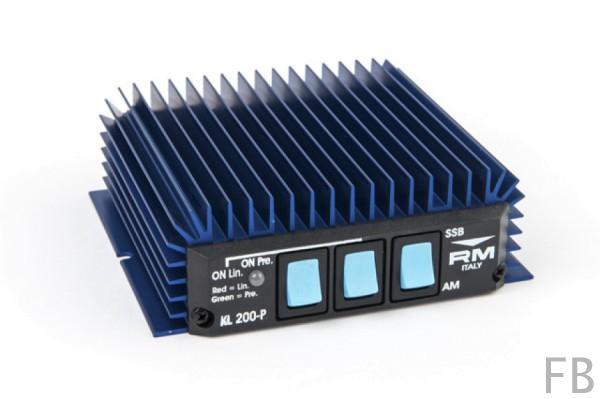 RM Italy KL-200P 25-30 MHz 100 Watt Transistor Endstufe