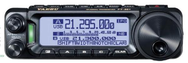 Yaesu FT-891 160-6m Transceiver