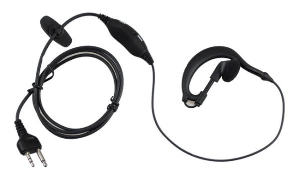 KEP-19-VK Ohrhörermikrofon mit Kenwood Norm