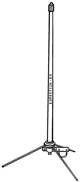 Albrecht Eurostick DX Scannerstationsantenne mit 3 Radiale