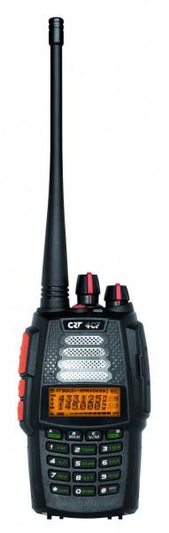 CRT 4CF V2 2m/70cm Dualband Handfunkgerät mit bis zu 6 Watt Sendeleistung und Breitbandempfänger