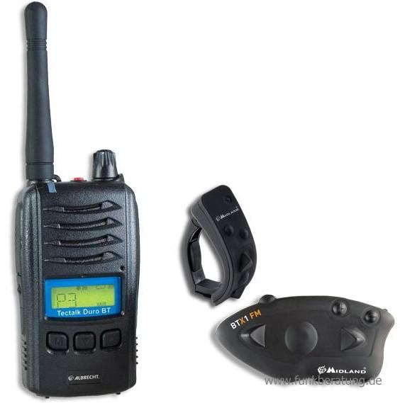 Motorrad Funkset Duro BT/BTX1 FM/BT Remote - Das perfekt aufeinander abgestimmte Funkset