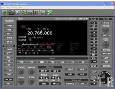 Icom RS-BA1 IP-Fernbedienung Version 2