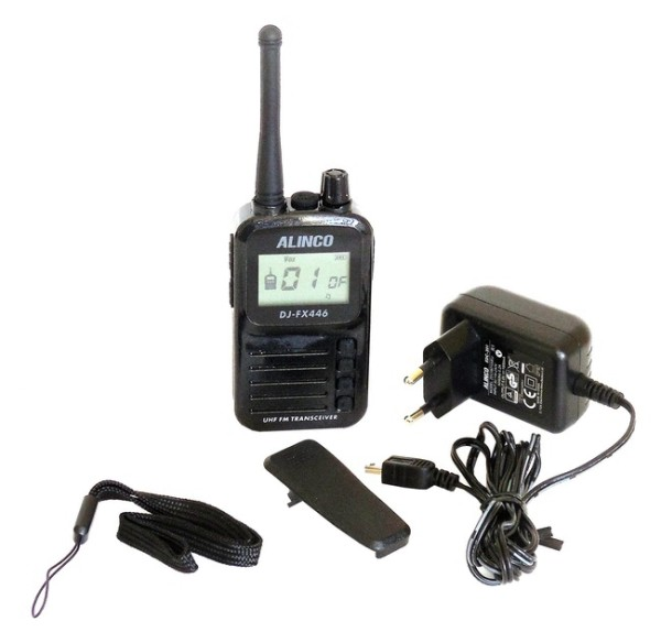 ALINCO DJ-FX-446E Handfunkgerät PMR-446