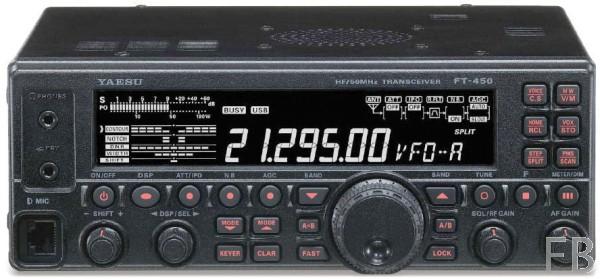 Yaesu FT-450D HF/6m Transceiver incl. Tuner