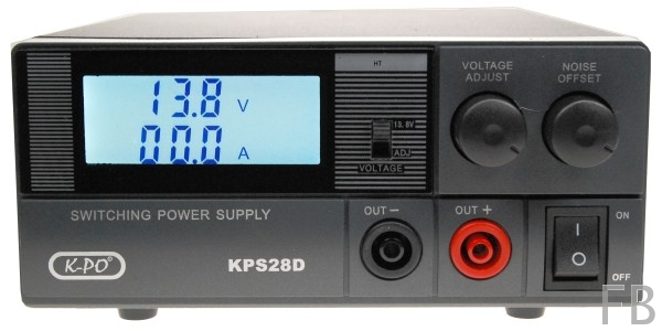 KPS-28D Schaltnetzteil 28Ampere Schaltnetzteil 9-15 Volt und analogem Instrument Volt/Ampere